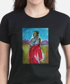 Africian Queen, Colorful, Tee