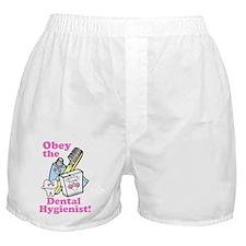 Funny Dentist Dental Hygienis Boxer Shorts