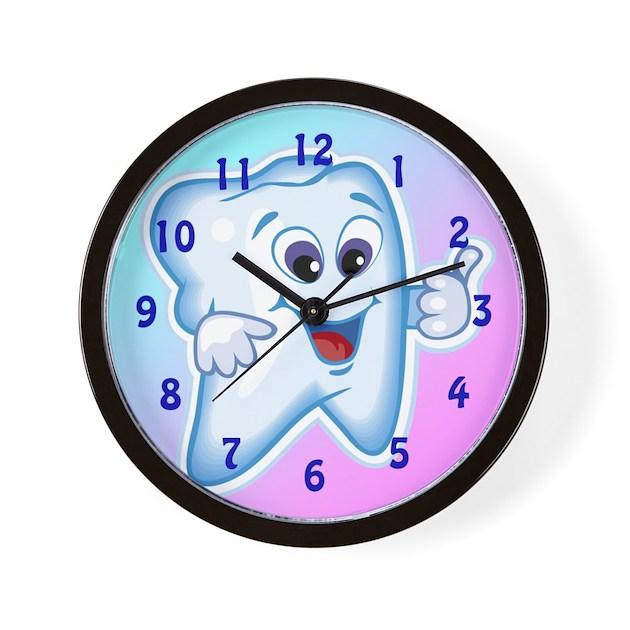 Funny Dentist Dental Hygienis Wall Clock By Awesome
