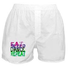 Eat Sleep Dance Repeat Boxer Shorts