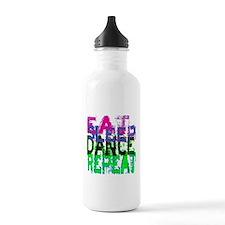 Eat Sleep Dance Repeat Water Bottle