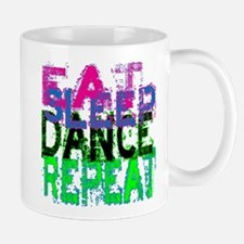 Eat Sleep Dance Repeat Small Small Mug