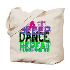 Eat Sleep Dance Repeat Tote Bag