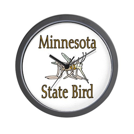 Minnesota State Bird Wall Clock