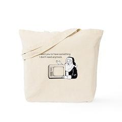 Used Christmas Gift Tote Bag