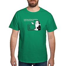 Used Christmas Gift Dark T-Shirt