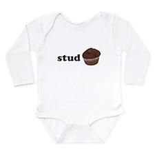 Stud Muffin Long Sleeve Infant Bodysuit