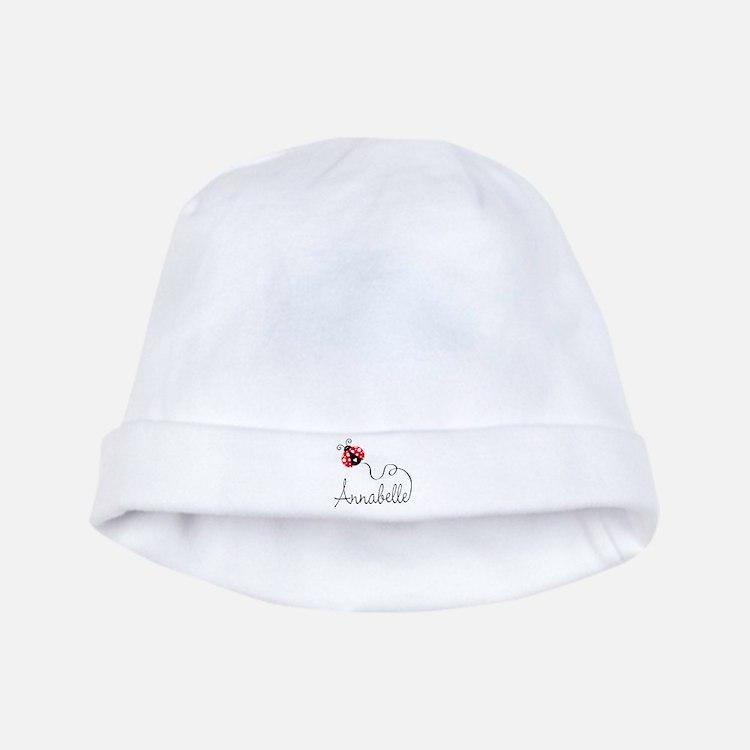 Ladybug Annabelle baby hat