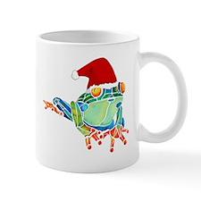 Christmas Holiday Tree Frog Mug