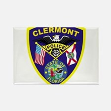 Clermont Police Dept Rectangle Magnet (100 pack)