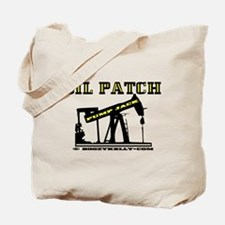 Oil Patch Pump Jack Tote Bag