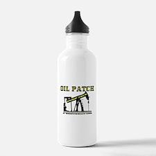 Oil Patch Pump Jack Water Bottle