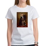 Lincoln / Chocolate Lab Women's T-Shirt