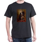 Lincoln / Chocolate Lab Dark T-Shirt