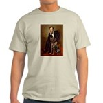 Lincoln / Chocolate Lab Light T-Shirt