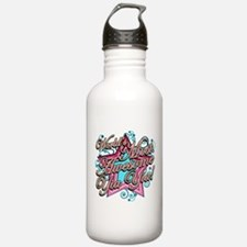 Worlds Best Yia Yia Water Bottle