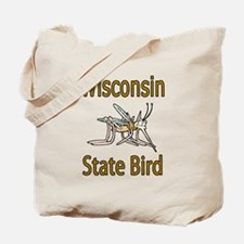 Wisconsin State Bird Tote Bag