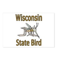 Wisconsin State Bird Postcards (Package of 8)