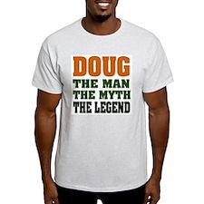 DOUG - The Legend Ash Grey T-Shirt