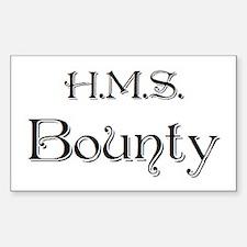 hms bounty Sticker (Rectangle)
