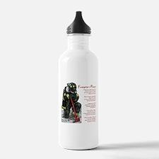 Firefighter Prayer Water Bottle