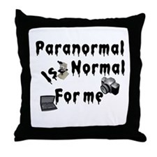 Paranormal Designs Throw Pillow