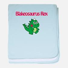 Blakeosaurus Rex baby blanket