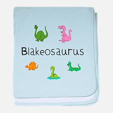 Blakeosaurus baby blanket