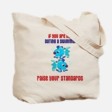 Dating a Swimmer Tote Bag