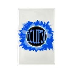 Eclipse Blue Rectangle Magnet (100 pack)