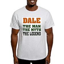 DALE - The Legend Ash Grey T-Shirt