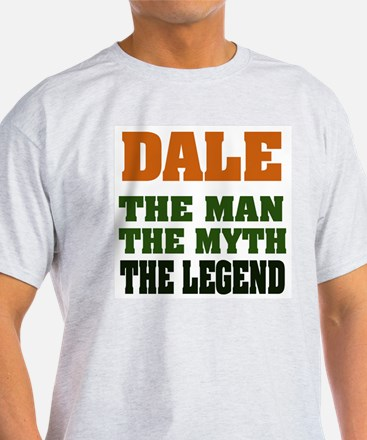 DALE - The Legend Ash Grey T-Shirt