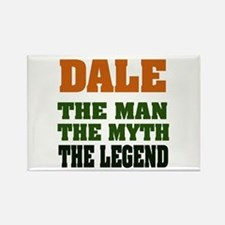 DALE - The Legend Rectangle Magnet