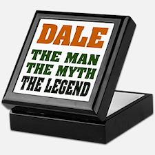 DALE - The Legend Keepsake Box