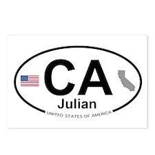 Julian Postcards (Package of 8)