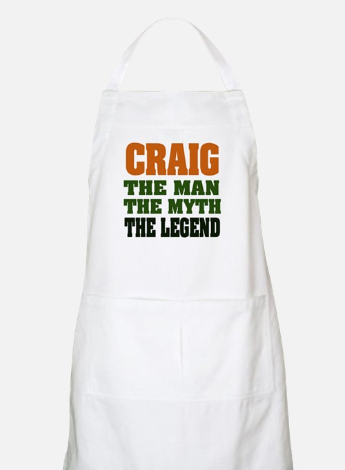 CRAIG - The Legend BBQ Apron