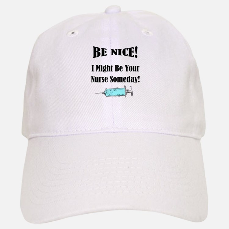 Funny Nurse Saying Baseball Baseball Cap
