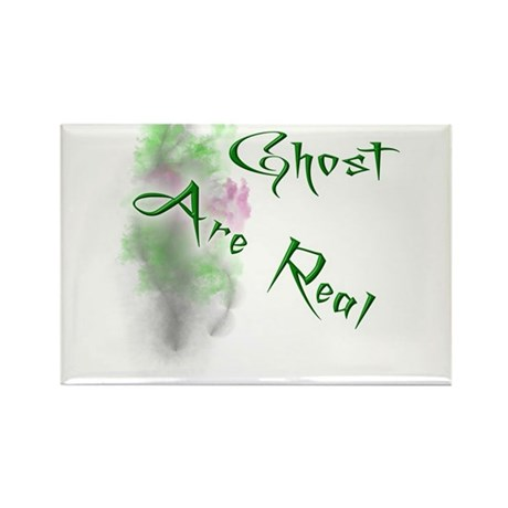 Ghost Are Real Rectangle Magnet