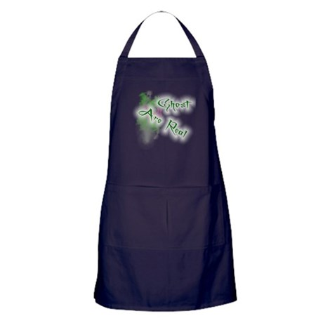 Ghost Are Real Apron (dark)