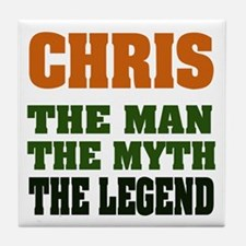 CHRIS - The Legend Tile Coaster