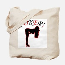Poker Grrrl Pose Tote Bag