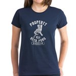 Beer Pong Blue Mountain State Women's Dark T-Shirt