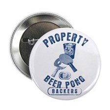 "Beer Pong Blue Mountain State 2.25"" Button"