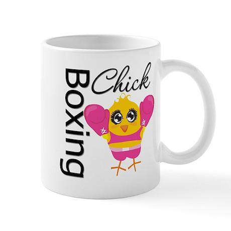 Boxing Chick Mug