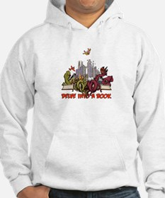 Delve into a Book Hoodie