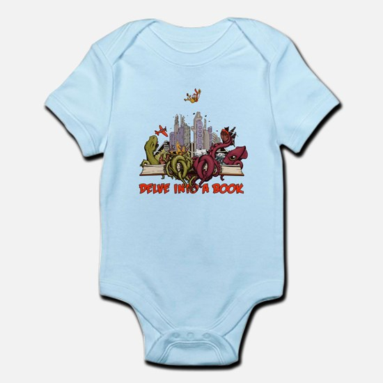 Delve into a Book Infant Bodysuit