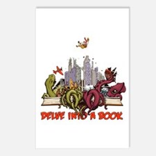Delve into a Book Postcards (Package of 8)