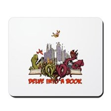 Delve into a Book Mousepad