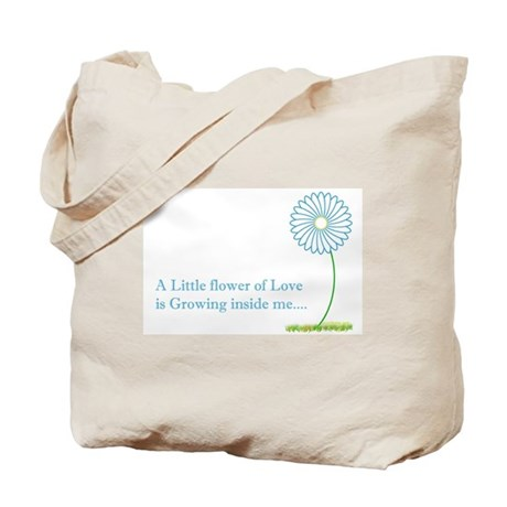 A Little Flower Growing Tote Bag