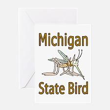 Michigan State Bird Greeting Card